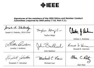 IEEEsignatures